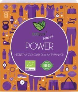 Power Herbata Dla Aktywnych 20x2g BIO EcoBlik