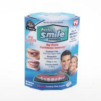 Sztuczne zęby implanty gadżet na dziąsła nakładka na zęby