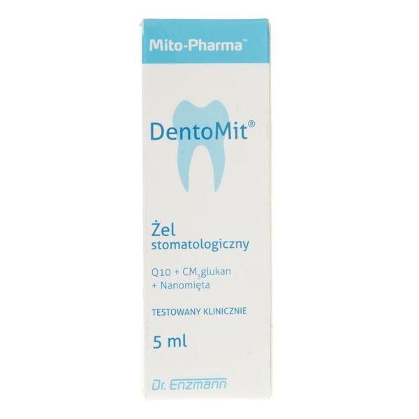Mito-Pharma DentoMit żel stomatologiczny - 5 ml zdjęcie 1