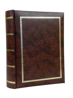 ALBUM, albumy na zdjęcia szyty 300 zdjęć 10x15 cm opis CL brązowy