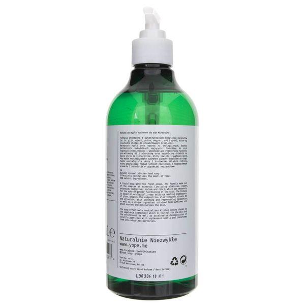 Yope Mineralne mydło do rąk - 500 ml zdjęcie 3