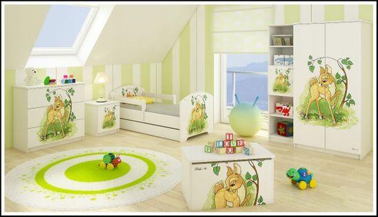Meble dziecięce BABY BOO łóżko 160x80 6elementów WZORY !