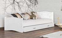 Łóżko dla dzieci DAISY 190x80  szuflada + materac KOLORY