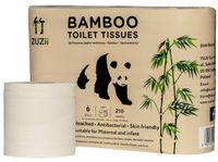Papier toaletowy z bambusa 3-warstwowy 6 rolek