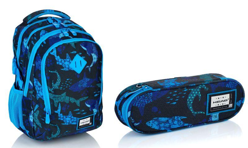 Head Plecak szkolny młodzieżowy HD-200 + Piórnik zdjęcie 1