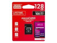 Karta SD 128GB micro+adapter GOODRAM class10