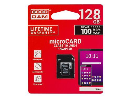 Karta SD 128GB micro+adapter GOODRAM class10 na Arena.pl