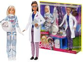 Lalka Barbie Astronautka i naukowiec Mattel FCP65