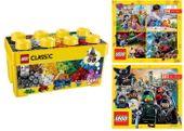 LEGO CLASSIC 10696 KREATYWNE KLOCKI + 2 KATALOGI