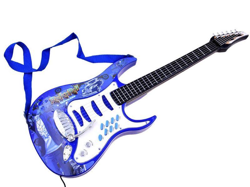 Gitara elektryczna dla dzieci Mikrofon Wzmacniacz IN0018 zdjęcie 8