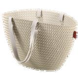 Koszyk Torba na zakupy Curver KNIT Emily (beżowy) zdjęcie 1
