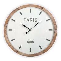 Zegar Ścienny Drewno MDF (4,5 x 60 x 60 cm)