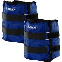 Obciążniki opaski obciążające na ręce nogi na rzepy 2x4 kg MOVIT