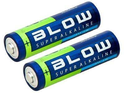 Baterie alkaliczne Blow Super Alkaline AAA LR3 (2 sztuki)