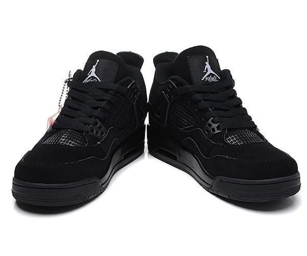 buty na codzień profesjonalna sprzedaż oficjalny dostawca NIKE AIR JORDAN 4 CZARNE - DAMSKIE r. 39