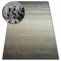 Dywan SHADOW 8621 light beige / brown 280x370 cm