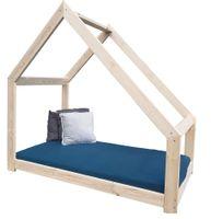 Łóżko Domek dziecięce 180x90 asymetryczne + stelaż
