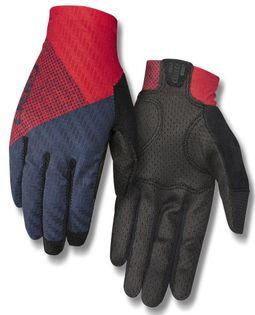 Rękawiczki damskie GIRO RIV'ETTE CS długi palec tri split red midnight roz. L (obwód dłoni 190-204 mm / dł. dłoni 185-195 mm) (DWZ)