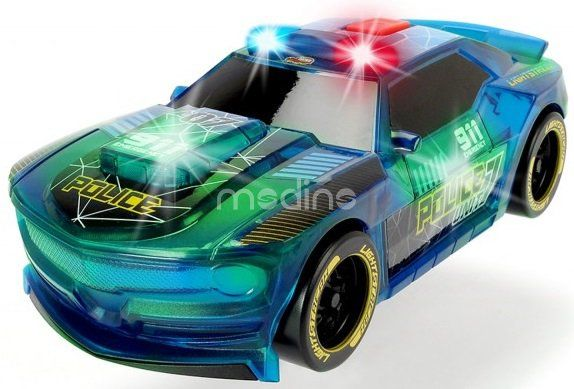 Auto Lightstreak Policja ze światłem i dźwiękiem Dickie 3763001 zdjęcie 1