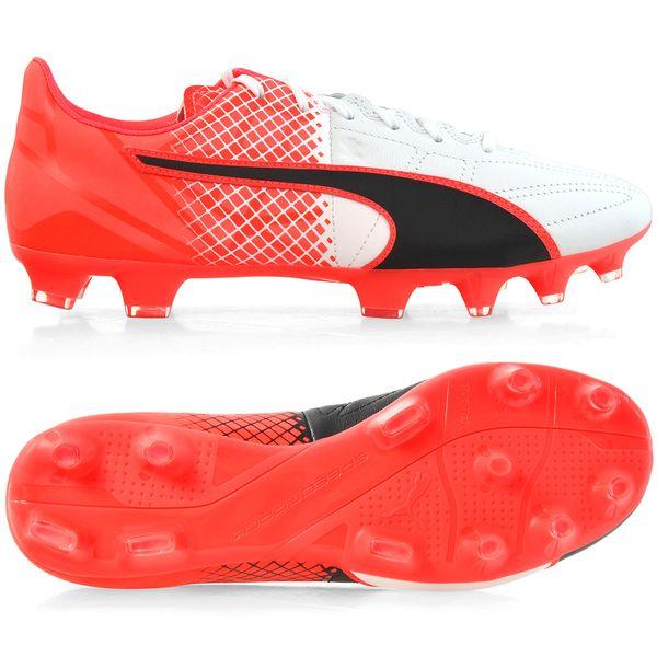 7c4f3cf0 Buty piłkarskie Puma Evo Speed 3.5 FG Leather 103794 01 44 • Arena.pl