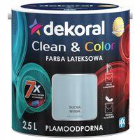 Dekoral Clean & Color 2,5L SUCHA WODA
