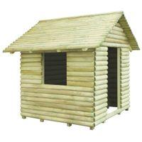 Domek dla dzieci, impregnowane drewno sosnowe, 167x150x151 cm