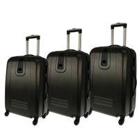Zestaw 3 walizek PELLUCCI RGL 910 Szare