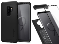 SPIGEN THIN FIT 360- ETUI - GALAXY S9+ PLUS +SZKŁO