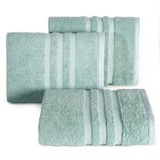 Lumarko Ręcznik ALAN 70x140cm miętowy