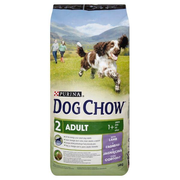 DOG CHOW Adult 1+ lat Karma z jagnięciną 14 kg + PREZENT GRATIS!!! zdjęcie 1