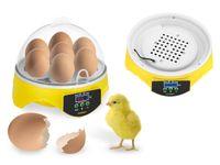 Inkubator do jaj - 20 W - 7 jaj - owoskop Incubato IN-7DDI