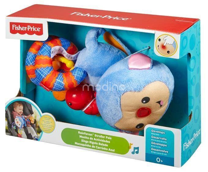 Małpka zawieszka do wózka Fisher Price DFP84 zdjęcie 4