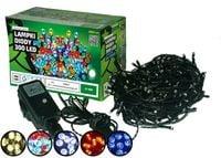 Sznur świetlny 30 m • 300 LED • zewnętrzne lampki • wyłącznik czasowy • lampki choinkowe NR 1783 Ciepły biały