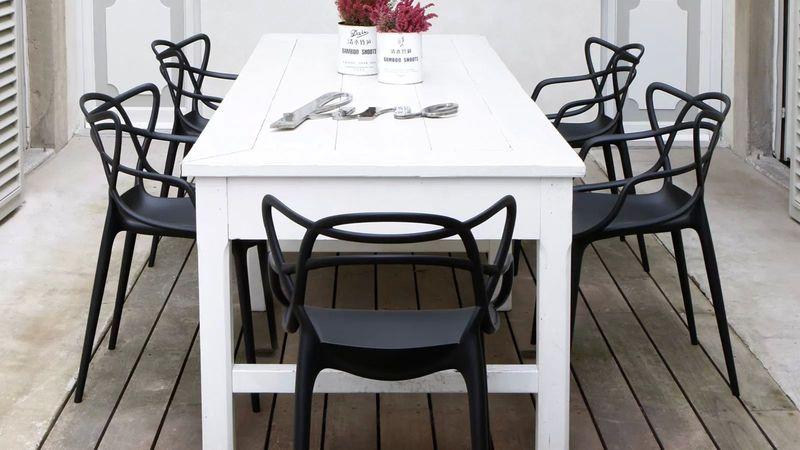 Krzesło Dankor Design Masters czarny wzmacniany zdjęcie 6