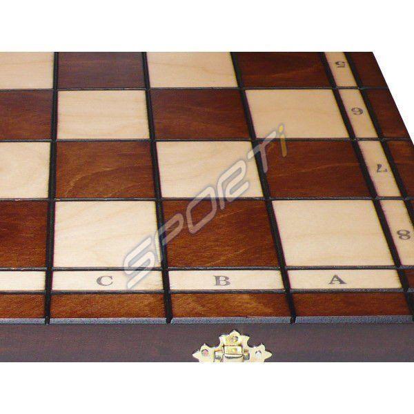 Szachy turniejowe duże Magiera 42 cm zdjęcie 3