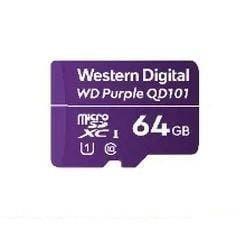 WD Karta pamięci WD Purple microSDXC WDD064G1P0C 64GB Class 10 Class U1