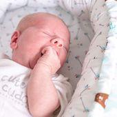 Dwustronny Kokon niemowlęcy Paprocie zdjęcie 4