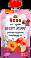 Bio Mus owocowy Jagodowy piesek jabłko&brzoskwinia&owoce leśne 8m+ Holle
