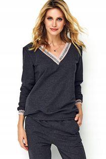 Dresowy sportowy komplet bluza spodnie DRES XL 42