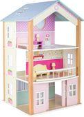 Domek dla lalek trzy piętrowy