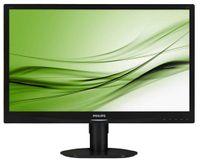 PHILIPS Monitor 24 241S4LCB LED DVI Pivot Czarny