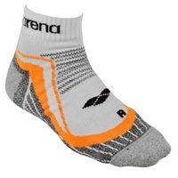 ARENA SKARPETKI RUNNING MID REFLECTIVE 1 PACK WHITE ORANGE ROZM.39-42