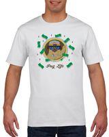Koszulka męska PUG LIFE MOPS  M