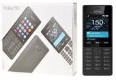 Telefon komórkowy Nokia 150 Dual Sim czarny F-V GWAR24.