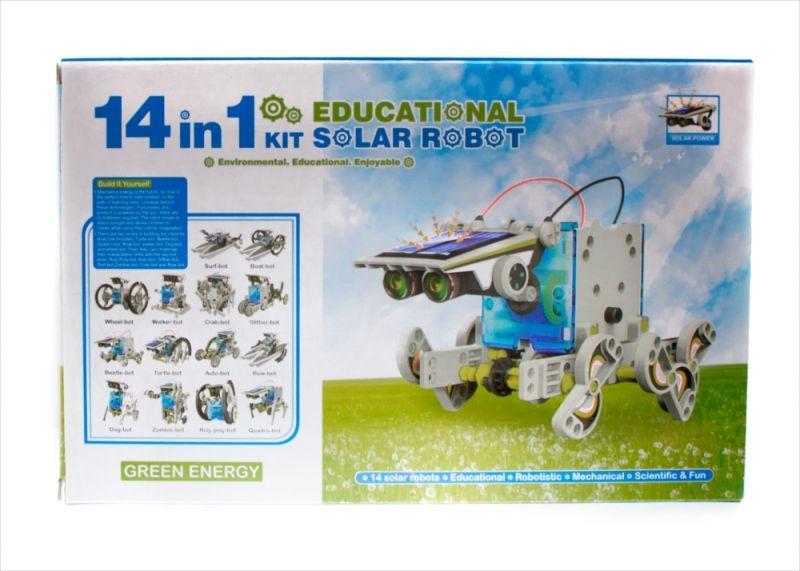 ZABAWKA EDUKACYJNA DUŻY ROBOT SOLARNY 14w1 #E1 zdjęcie 7