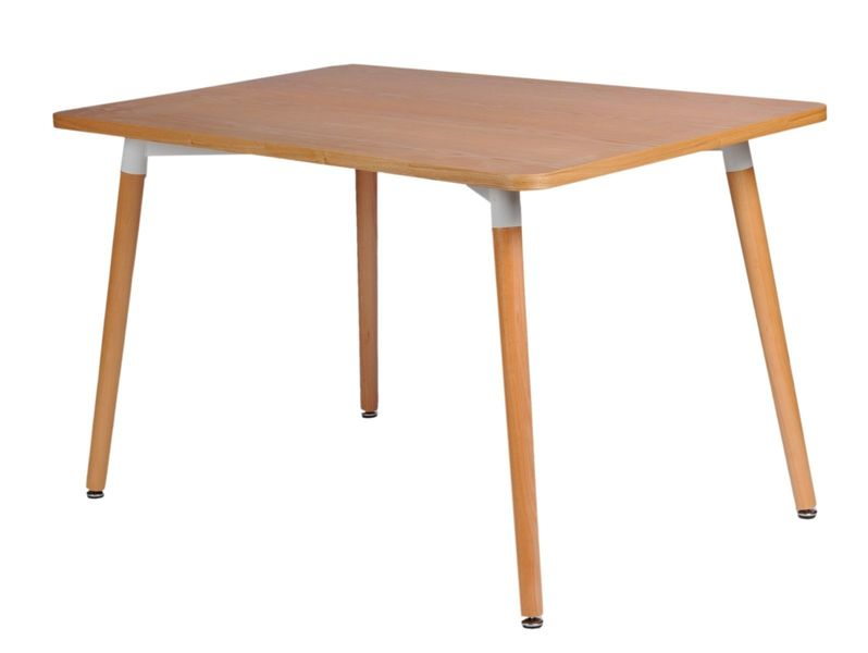 Stół copine blat natural 160x80 cm zdjęcie 1