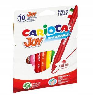 Pisaki Mazaki Flamastry Carioca Joy 10 kolorów