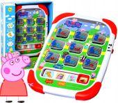 Tablet ŚWINKA PEPPA Edukacyjny Mówi Uczy 12m+
