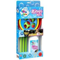 Bańki mydlane Rings Set Fru Blu z płynem 0,5 l