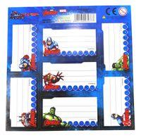 Avengers Naklejki Na Zeszyt 7szt wzór 4